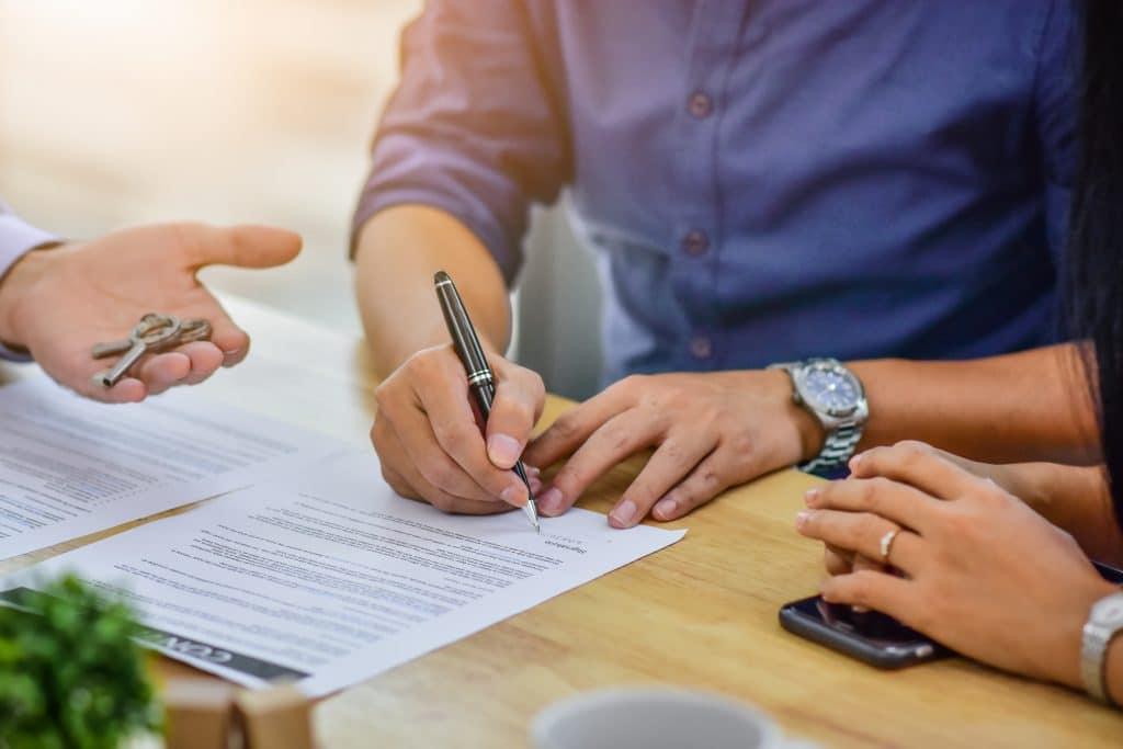 הסכם יחסי ממון לאחר נישואין