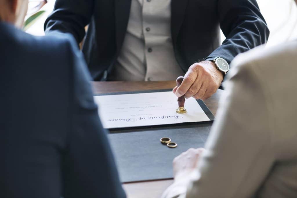 הסכם גירושין חלוקת רכוש